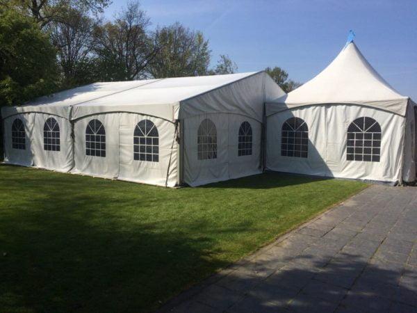 Luxe aluminium tent 10 x 5 meter - Top Party Verhuur